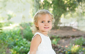 Dr. Chad Biggio's youngest daughter